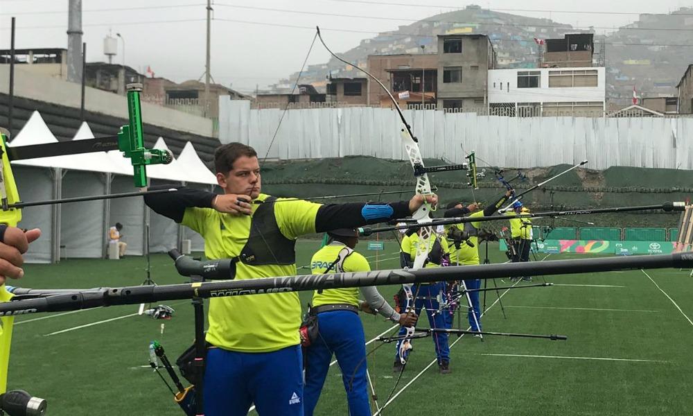 Marcus D'Almeia nos Jogos Pan Americanos de Lima