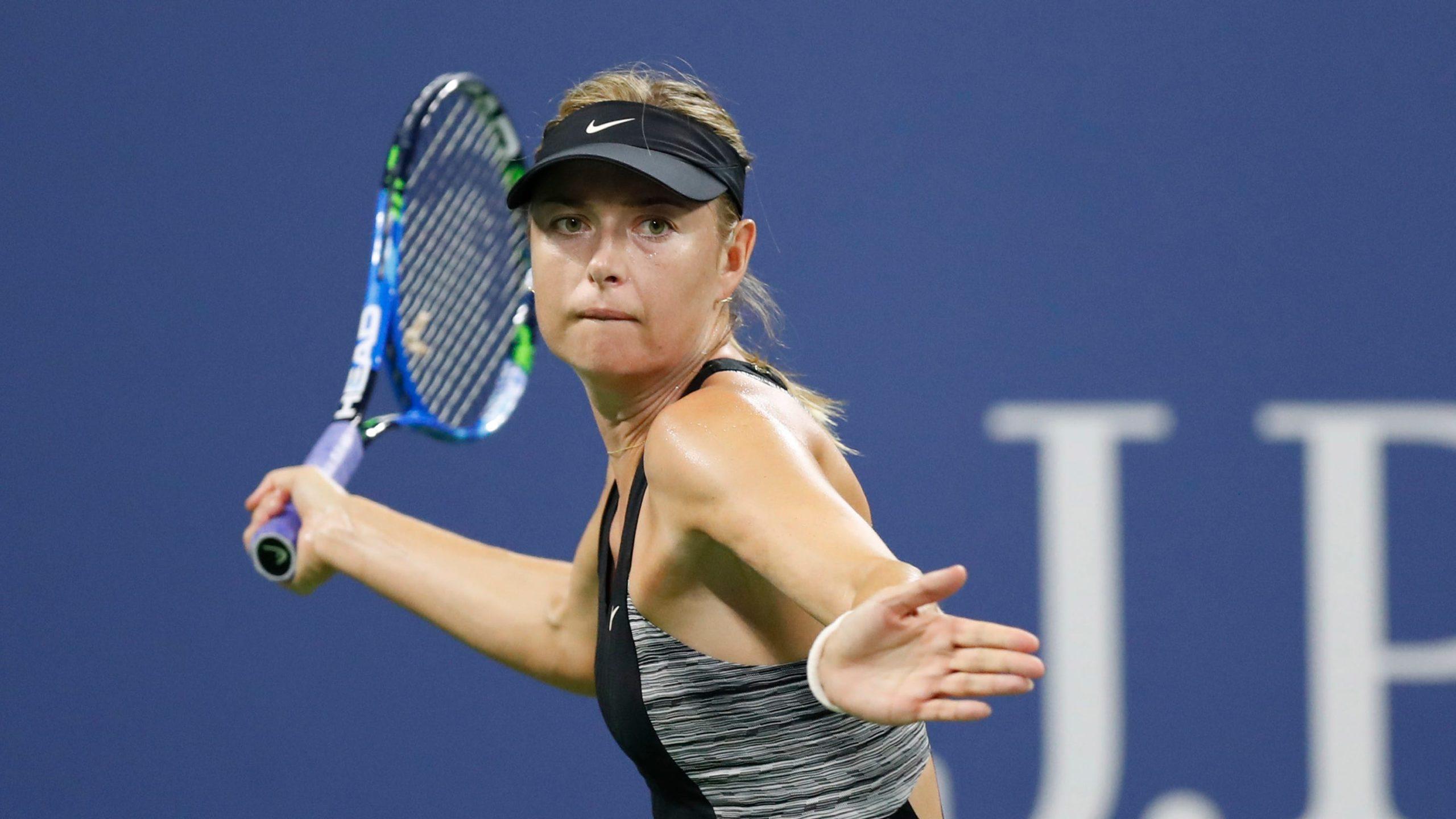 Maria Sharapova sofre virada e cai na estreia do Premier de Toronto