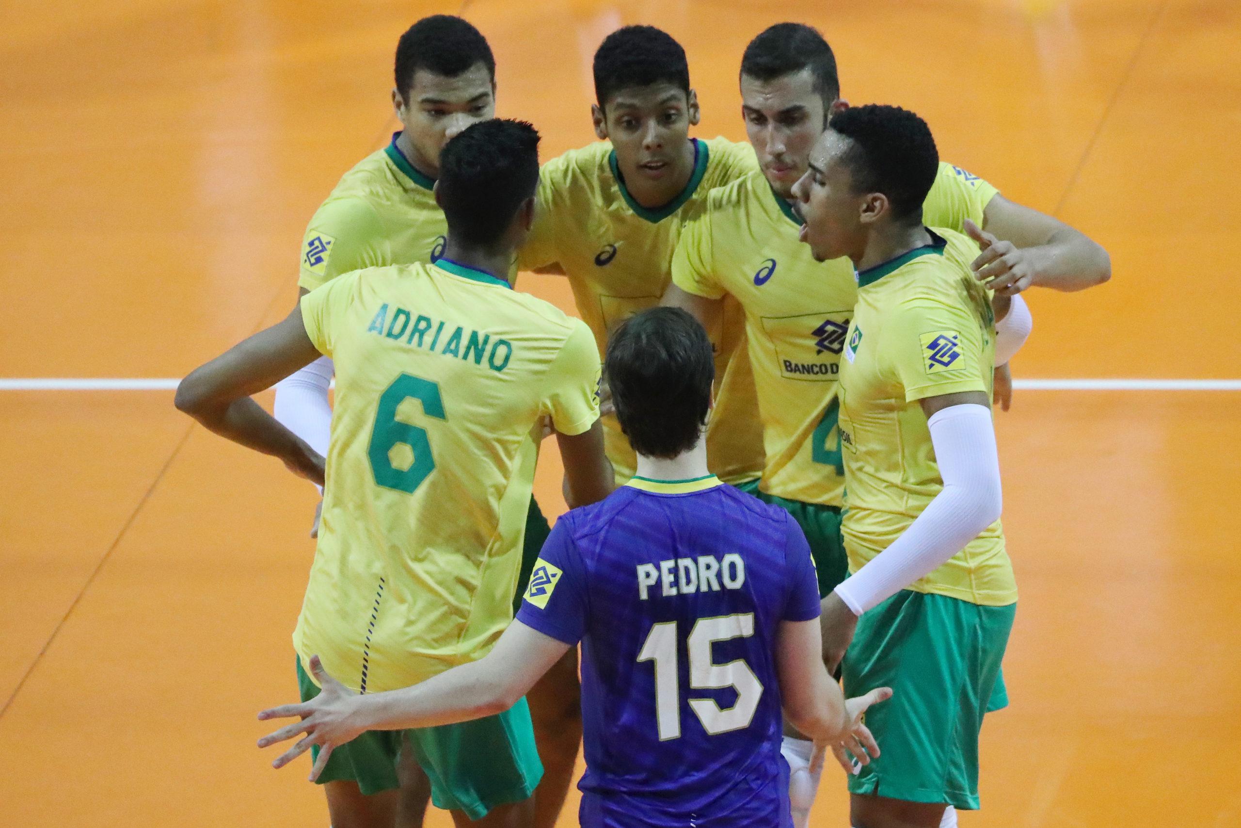 Brasil enfrenta a Bulgária nas oitavas de final do Mundial sub-19
