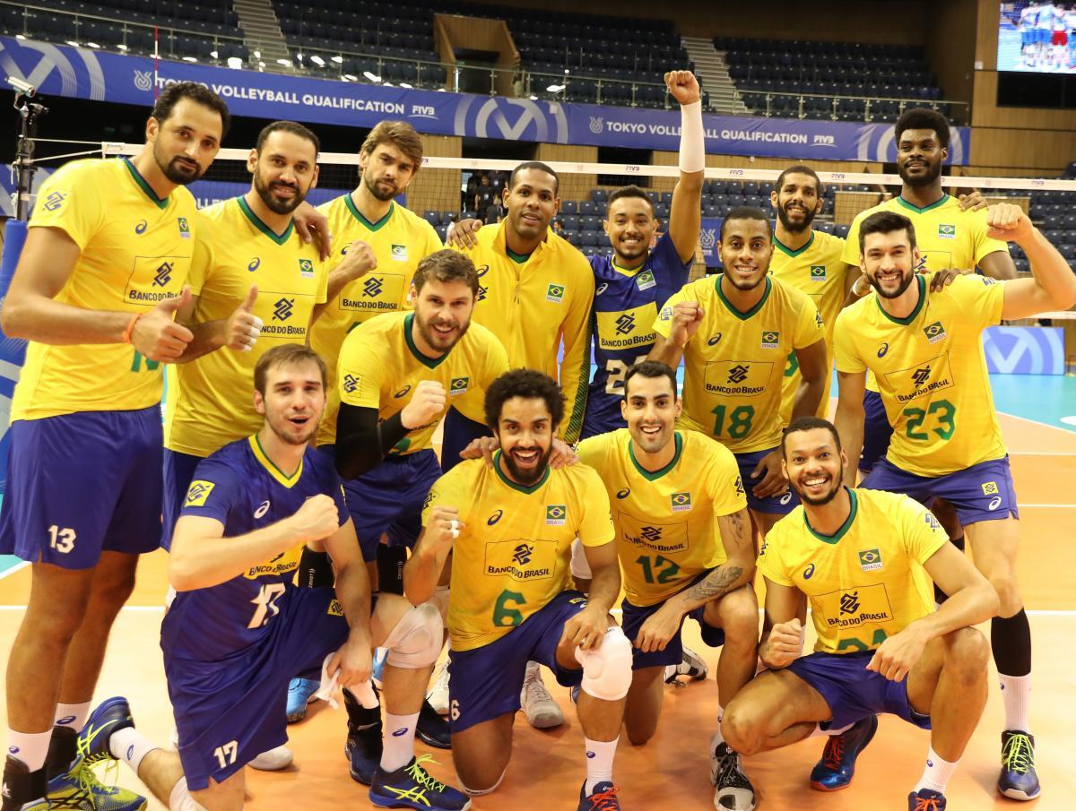 Brasil estreia com vitória no torneio pré-olímpico masculino de vôlei