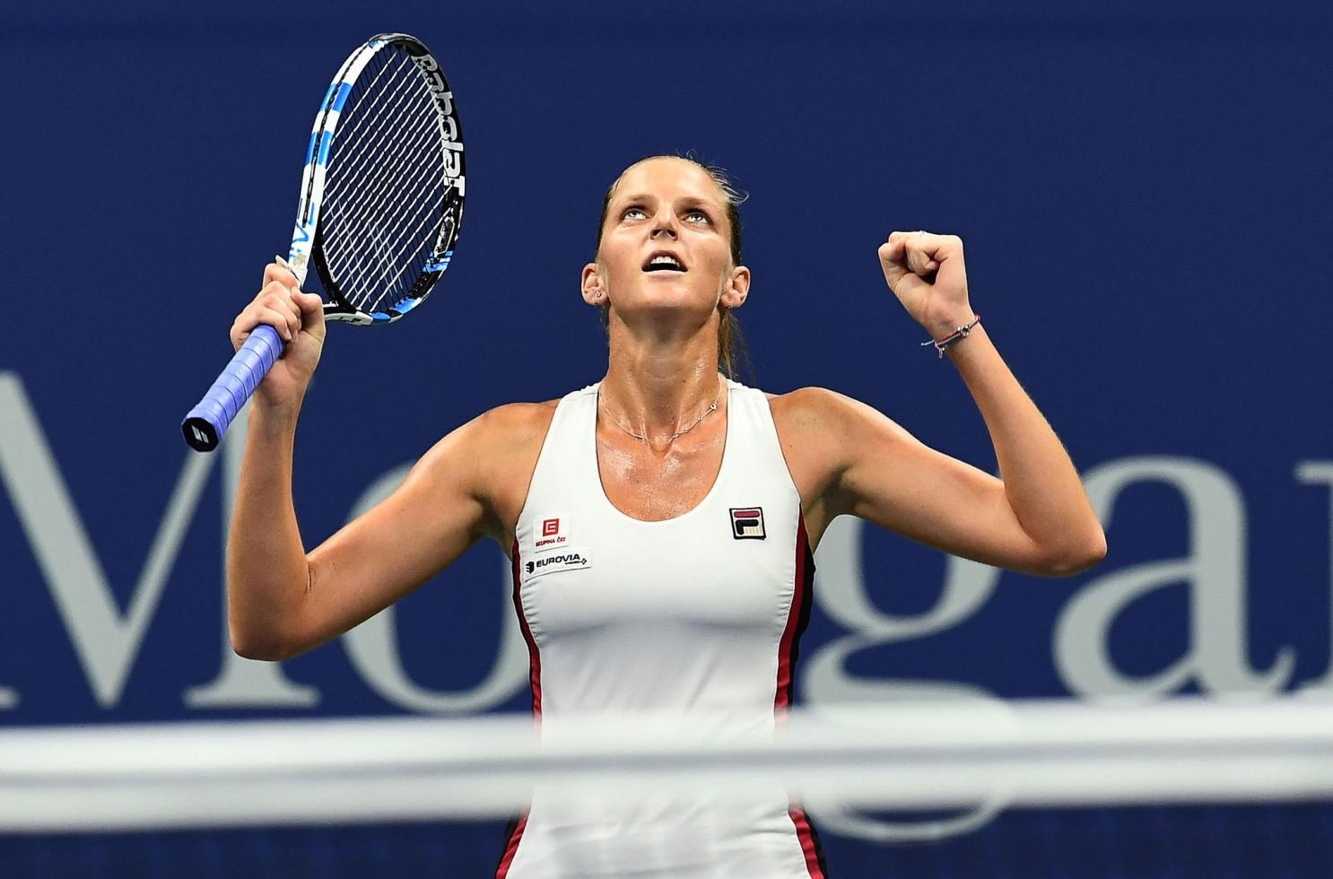 Karolina Pliskova vence dura estreia no US Open