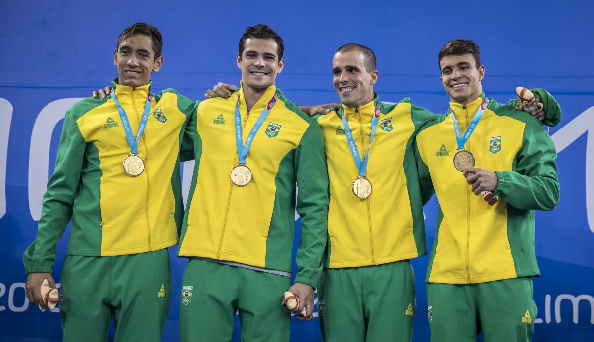 Natação brasileira brilha no primeiro dia de provas e conquista seis medalhas