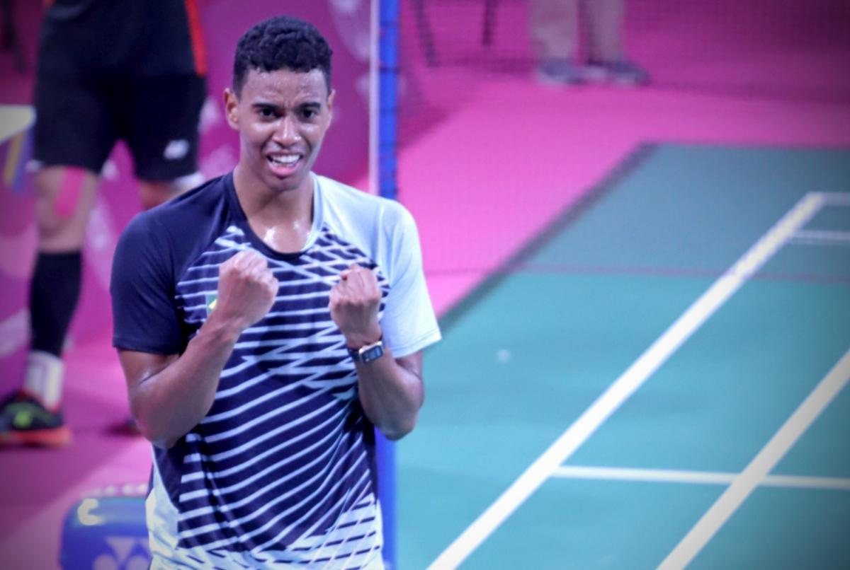 Ygor Coelho faz história e coloca o badminton brasileiro na final do Pan