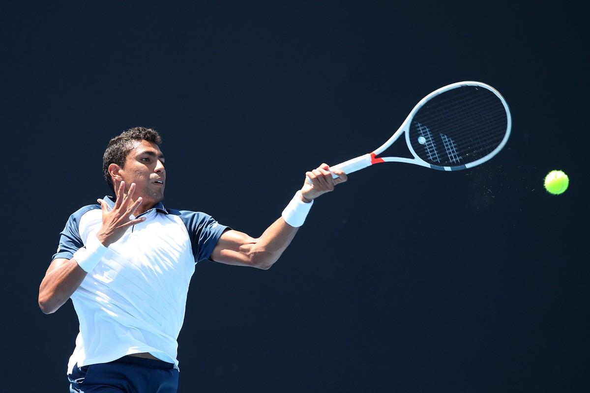 Thiago Monteiro cai na primeira rodada do US Open