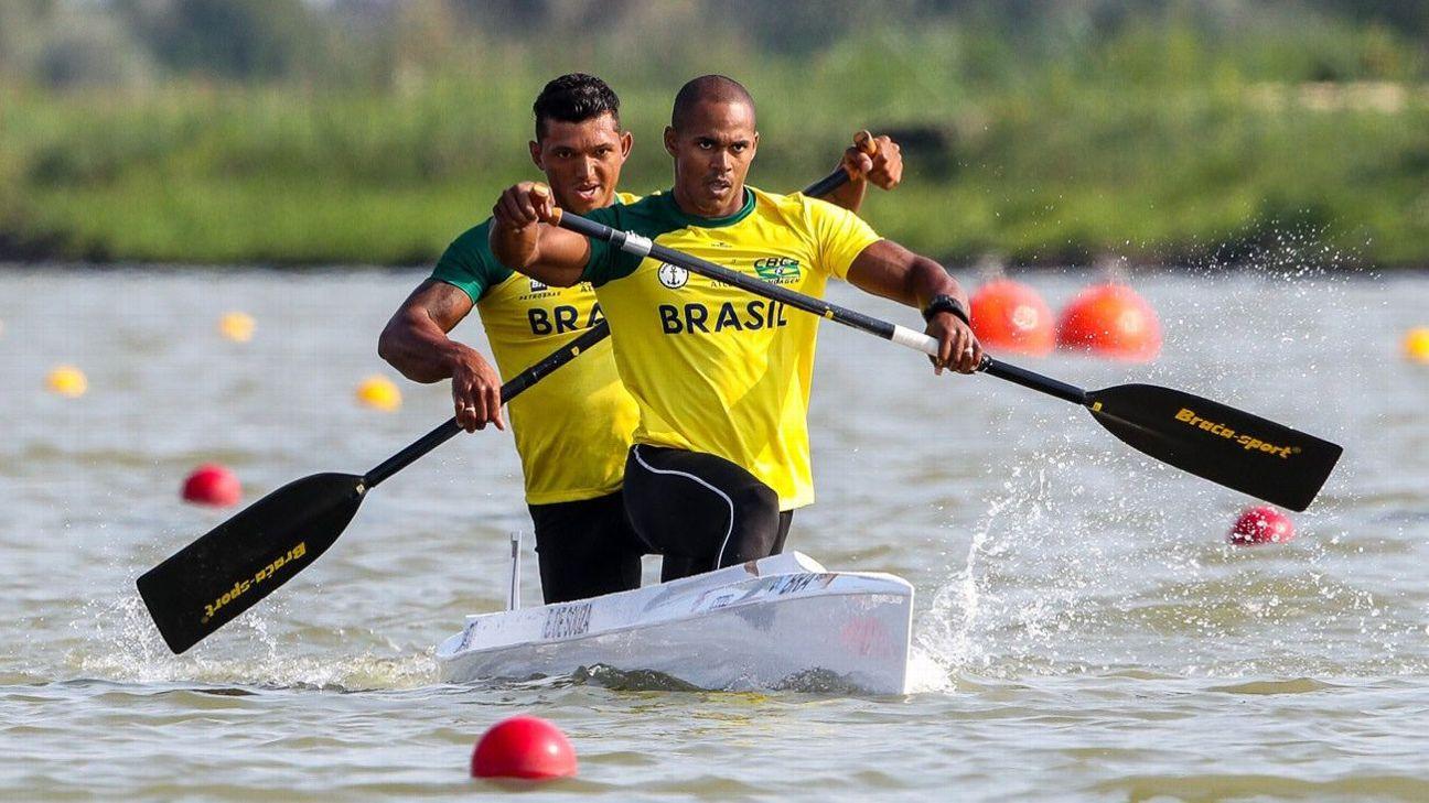 Com bronze mundial, Isaquias e Erlon garantem vaga em Tóquio 2020