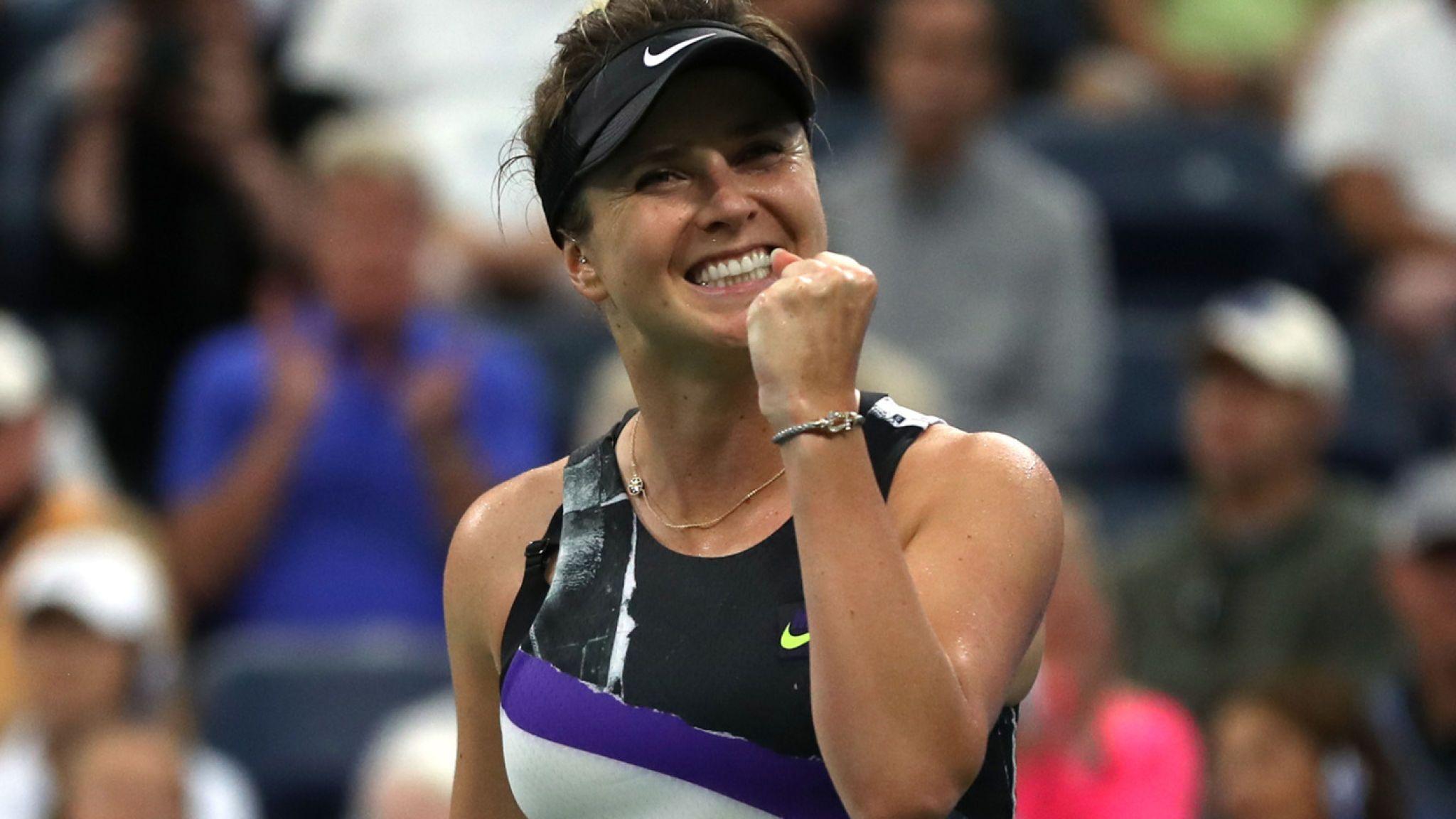 Elina Svitolina despacha Venus Williams no US Open