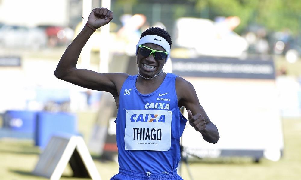 Thiago André assume a liderança no ranking sul-americano dos 1.500 m