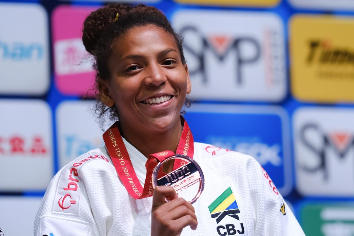 Rafaela Silva conquista medalha de bronze no Mundial de Judô