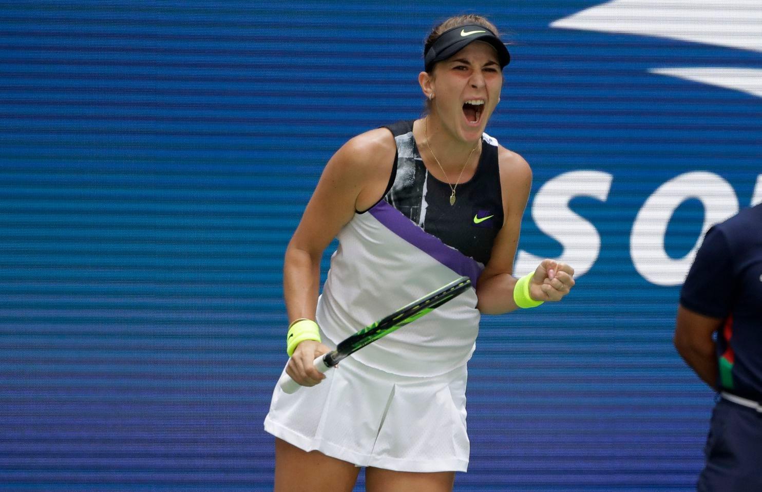 Belinda Bencic derrota crota e faz semi no US Open