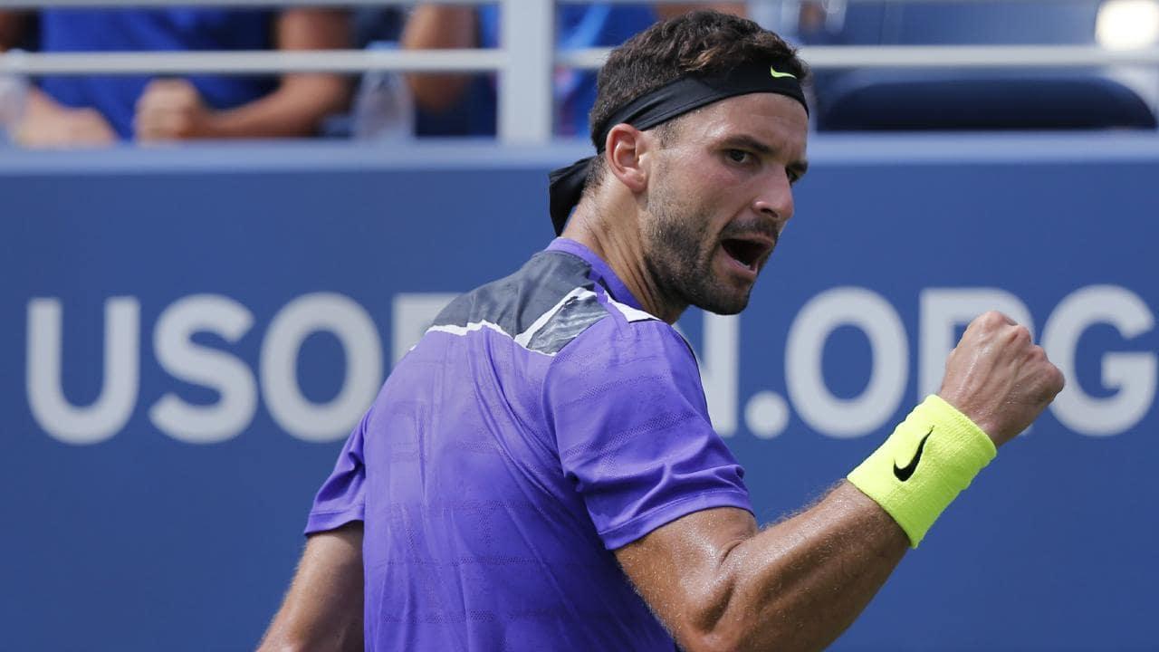 Dimitrov vai às quartas nos EUA e desafia Federer