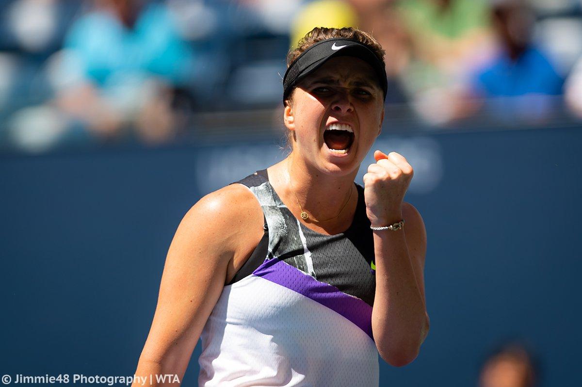 Svitolina despacha Konta e garante vaga na semifinal do US Open