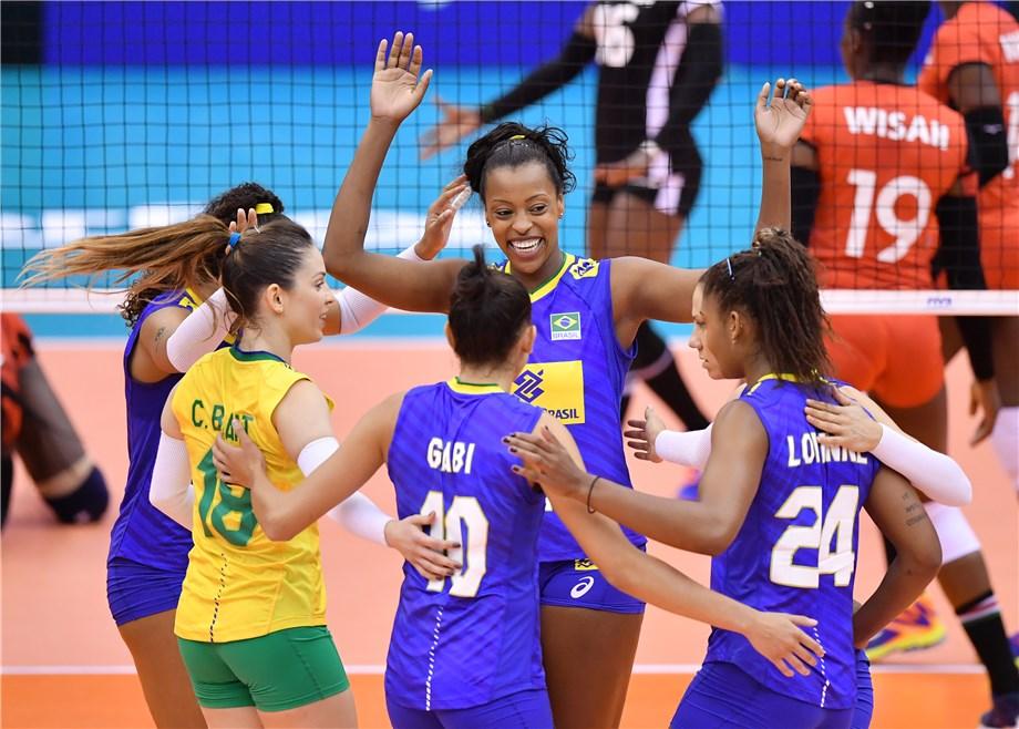 Brasil atropela Quênia e agora pega EUA na Copa do Mundo