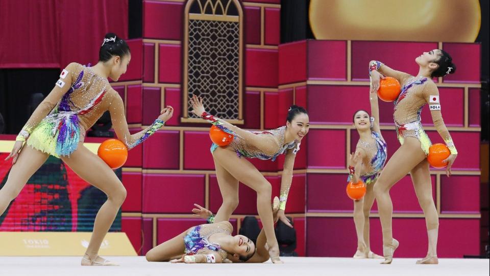 Japão conquista primeiro ouro em um Mundial de ginástica rítmica