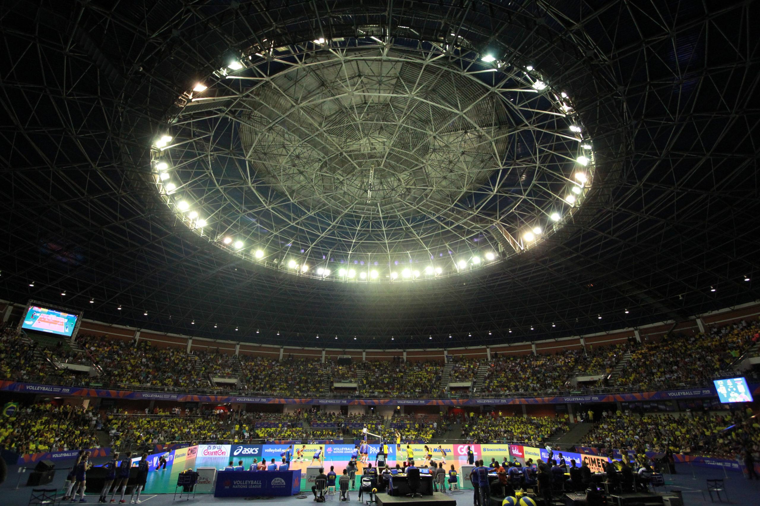 Três cidades brasileiras recebem a Liga das Nações de vôlei em 2020