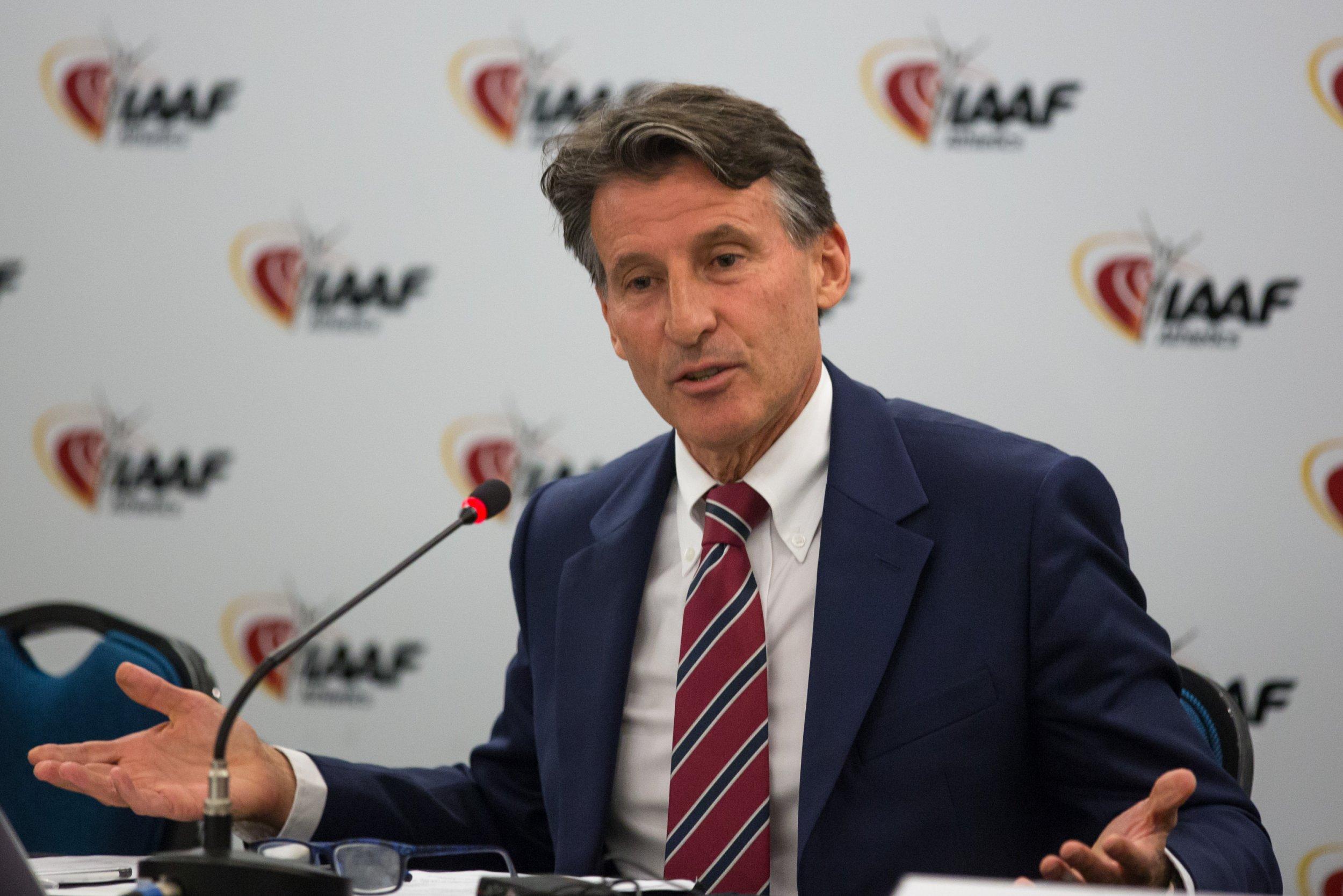 Sebastian Coe é reeleito presidente da Iaaf