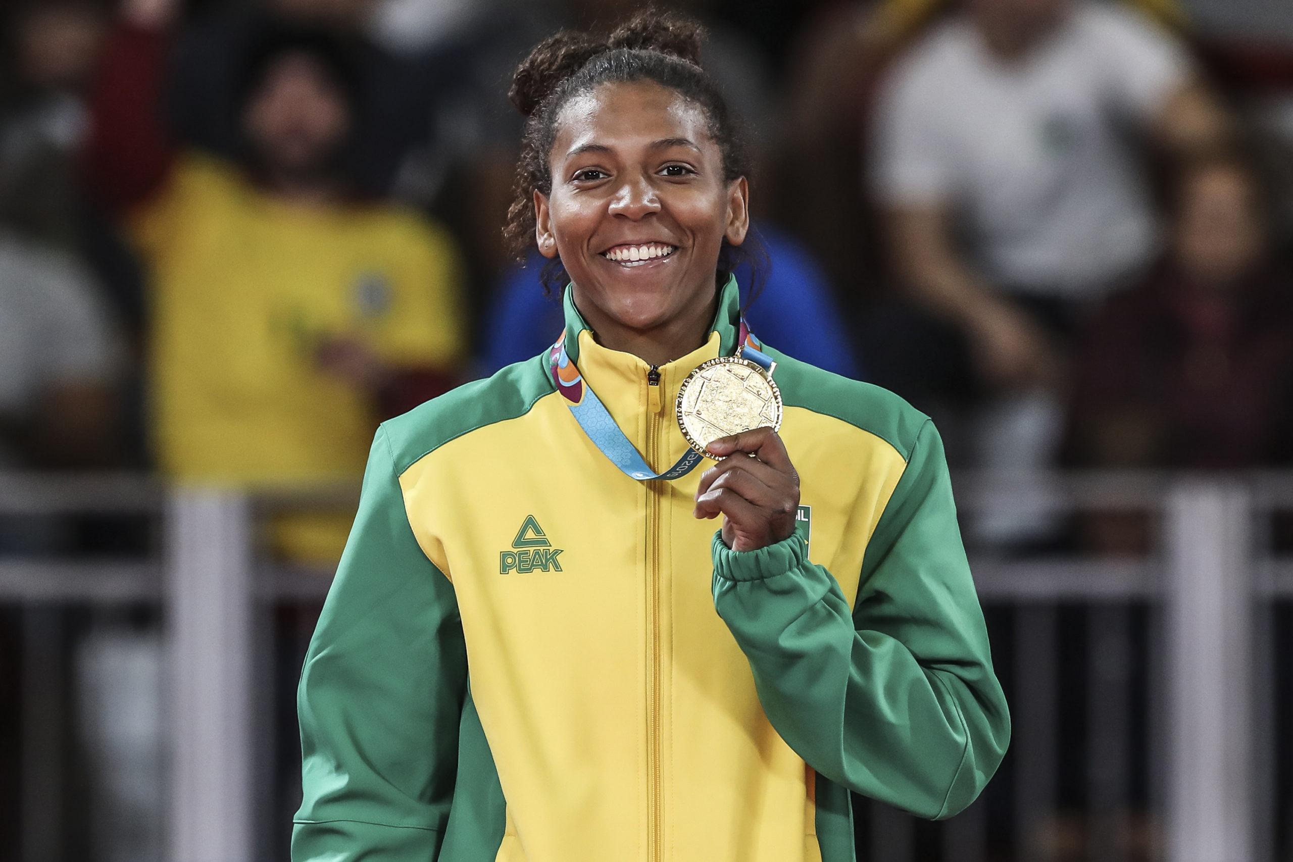 Rafaela Silva é punida pela PanAm Sports e terá que devolver medalha de ouro