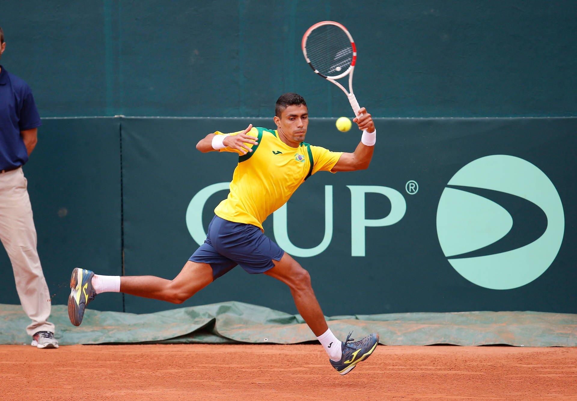 Monteiro vence e Brasil vai ao quali da Copa Davis