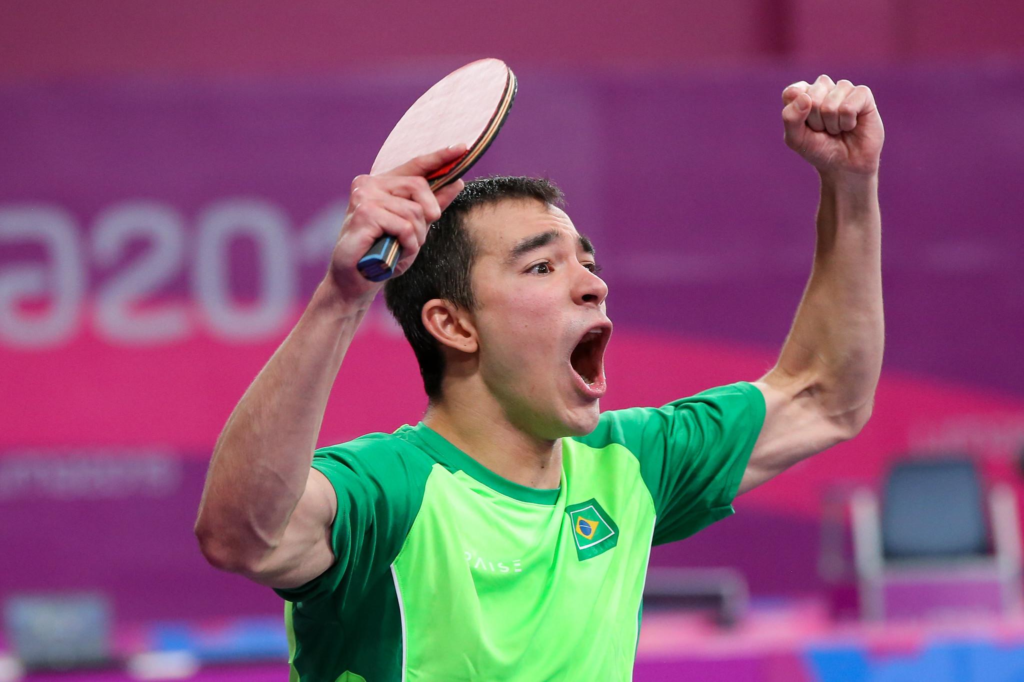 Tênis de mesa: seleção masculina derrota Argentina e também garante vaga em Tóquio 2020