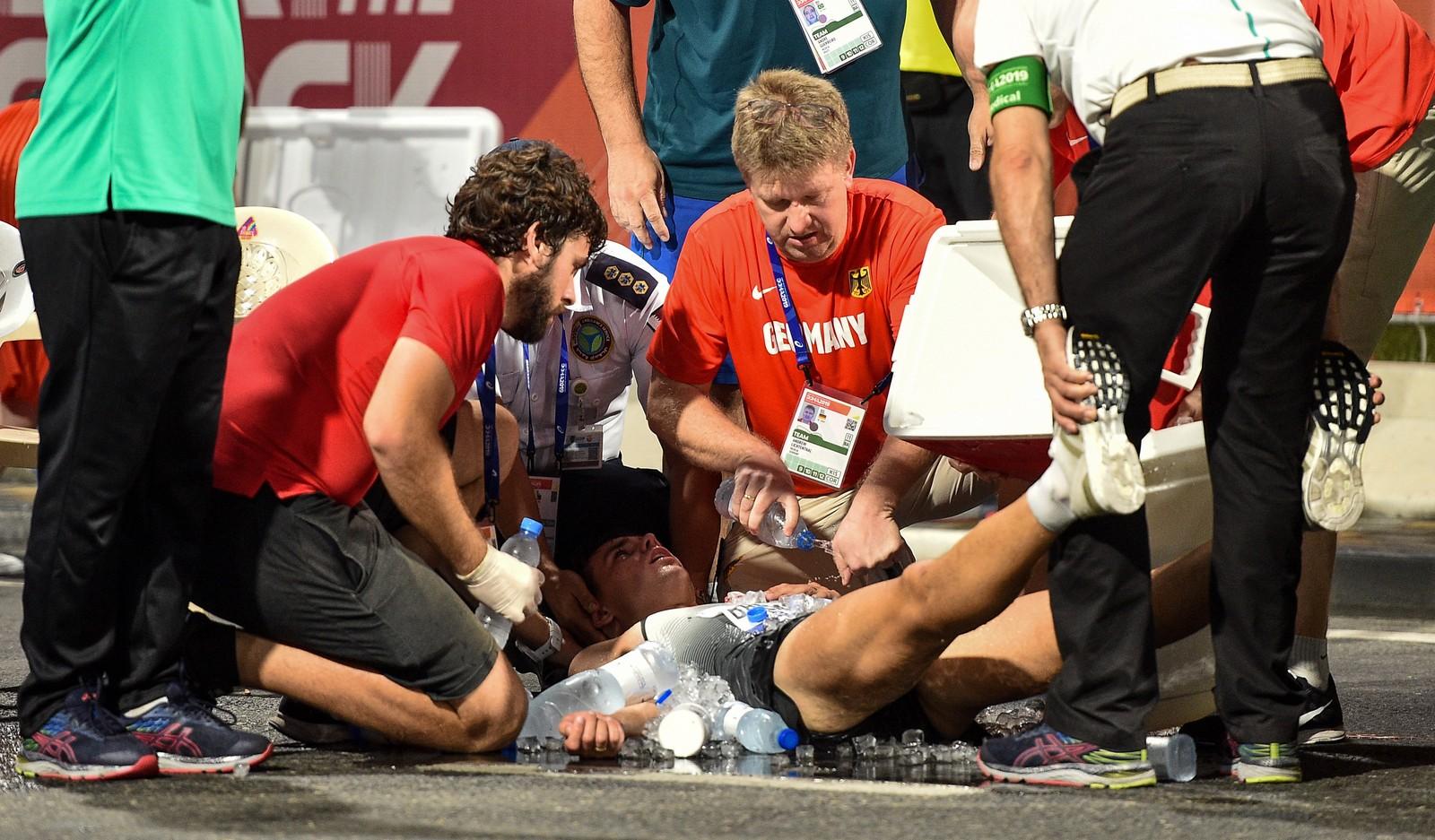 Calor ofusca os 20km da marcha atlética em Doha; Caio Bonfim é 12º
