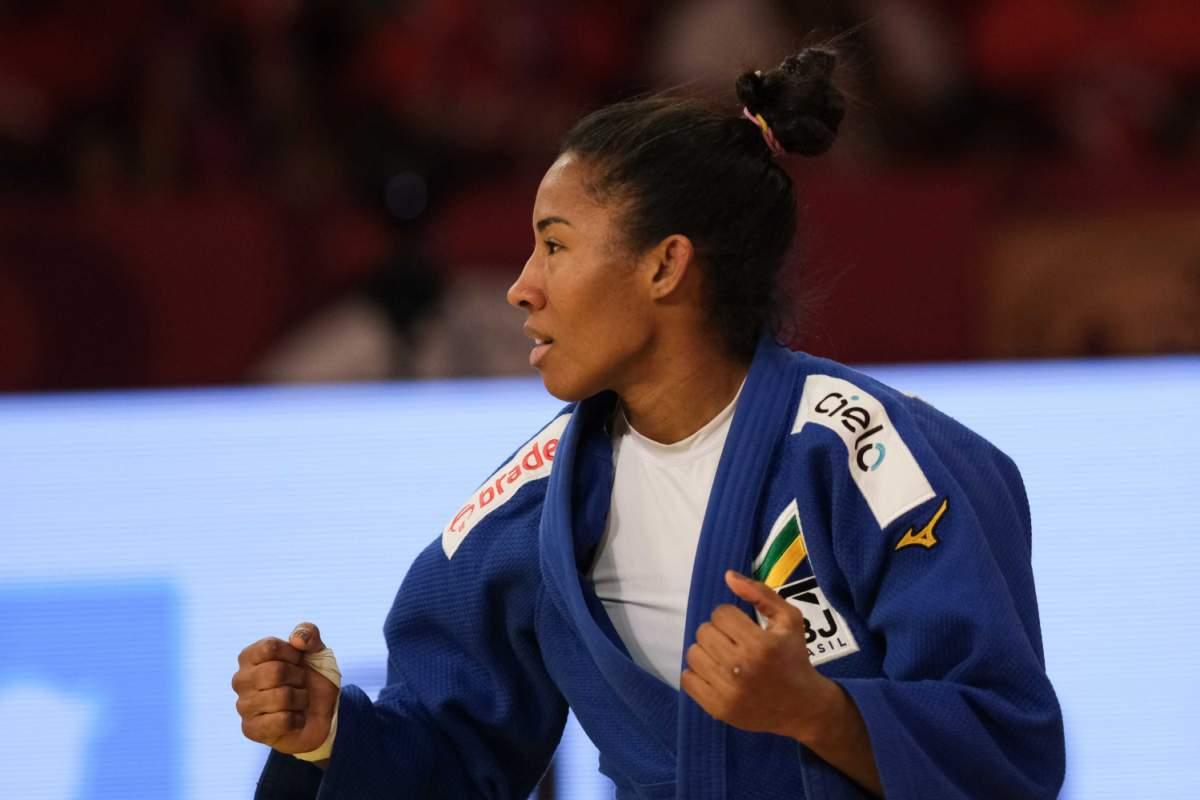 Ketleyn Quadros conquista a medalha de bronze no Grand Slam de Abu Dhabi