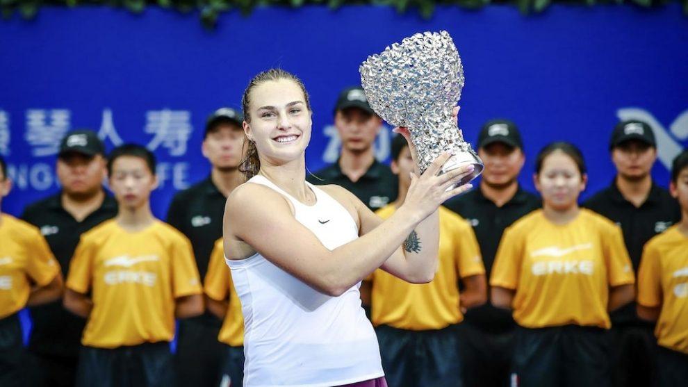 Aryna Sabalenka derrota Kiki Bertens e vence o WTA Elite Trophy