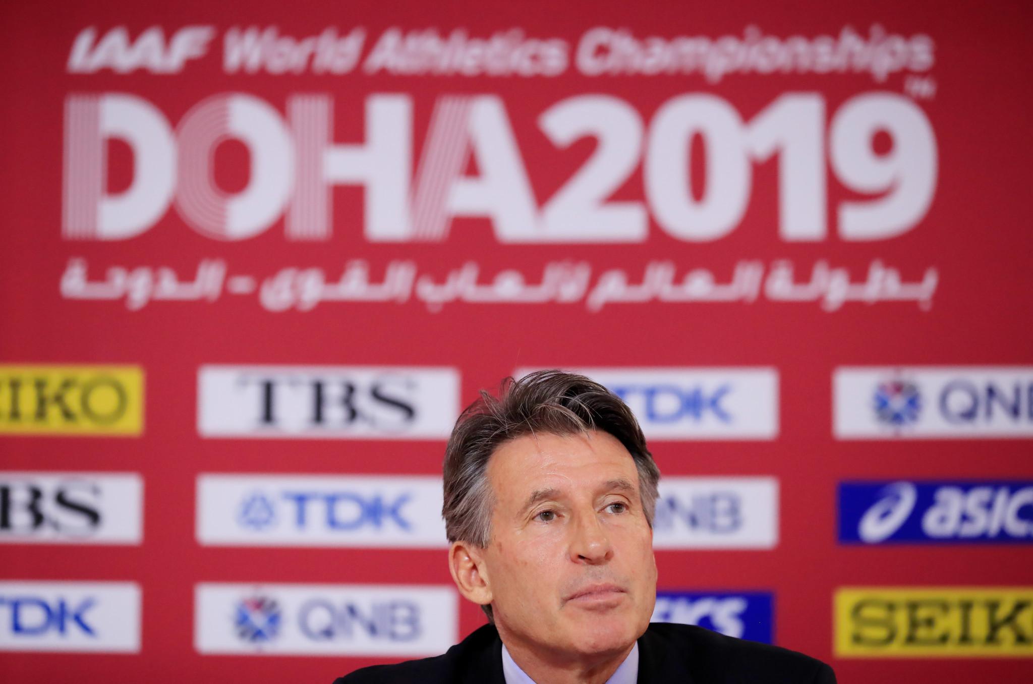 """Sebastian Coe classifica o Mundial de Doha como """"o melhor da história"""""""