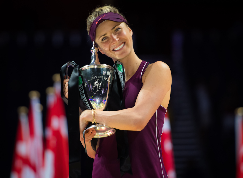 Elina Svitolina garante vaga no WTA Finals
