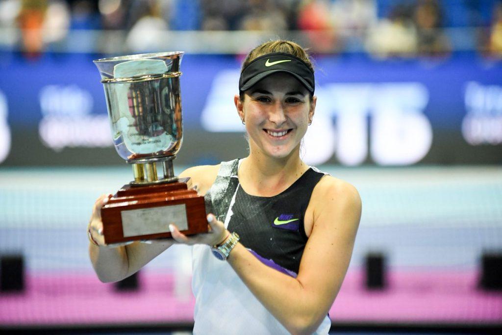 Belinda Bencic vence WTA Premier de Moscou