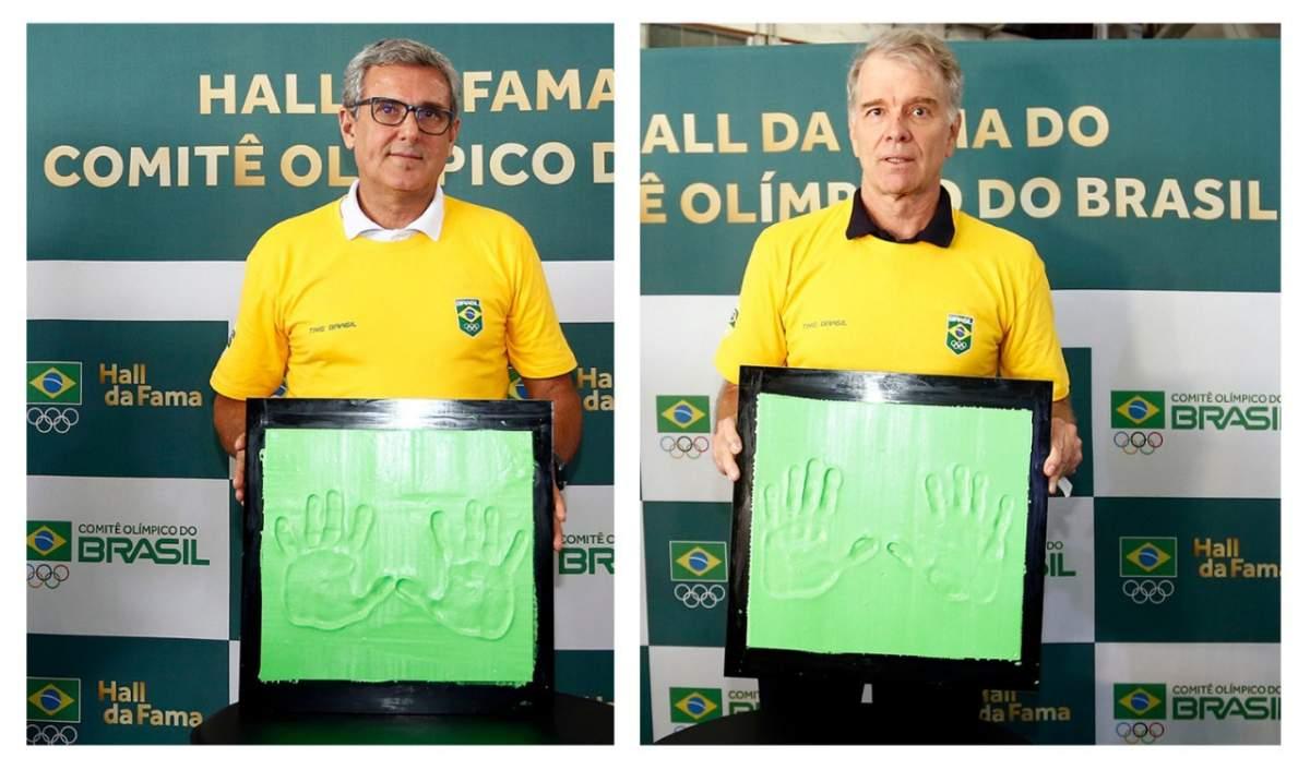 Bernardinho e Zé Roberto entram para o Hall da Fama do COB