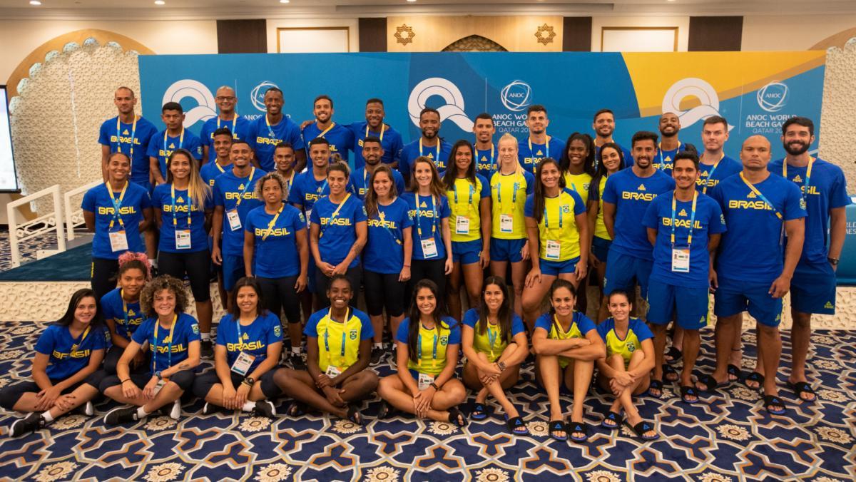 Com maior delegação, Brasil estreia nesta sexta nos Jogos Mundiais de praia