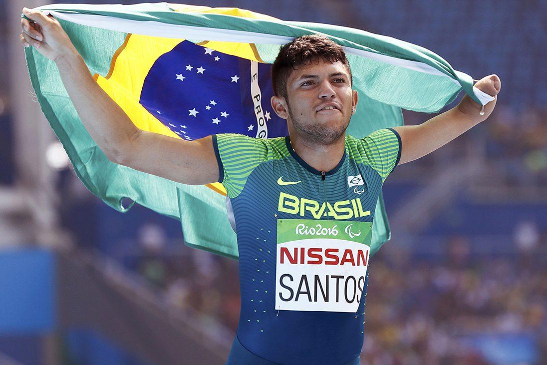 Brasil viaja nesta quinta para o Mundial de atletismo paralímpico