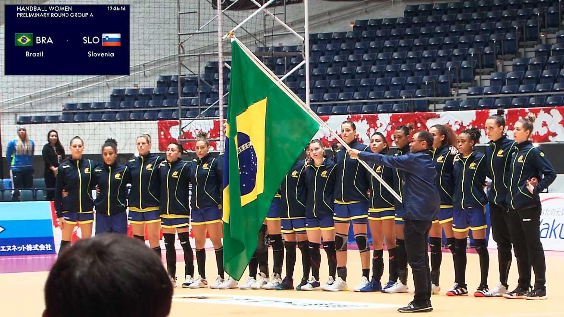 Handebol: Brasil perde para Eslovênia na Copa do Japão