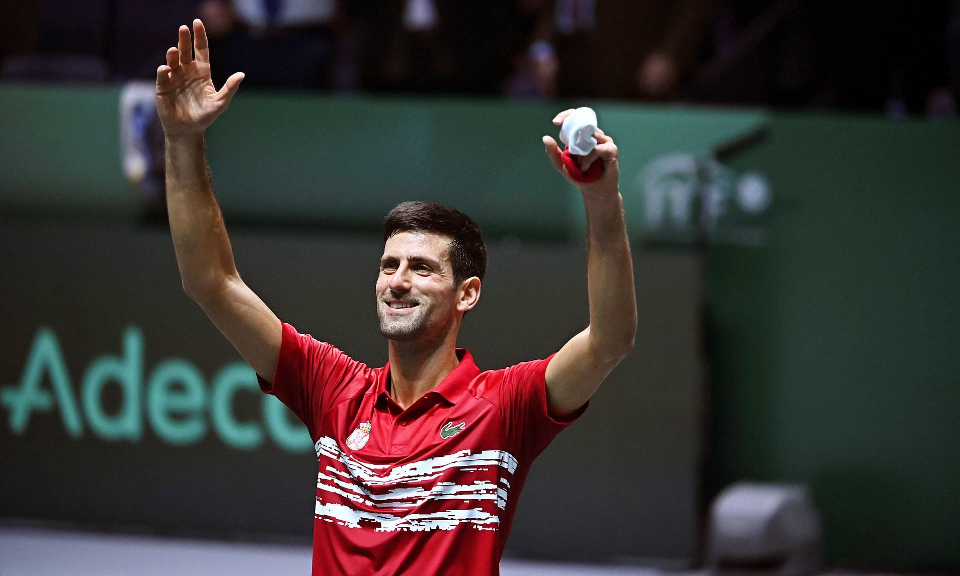 Copa Davis: Djokovic vence e garante a Sérvia nas quartas