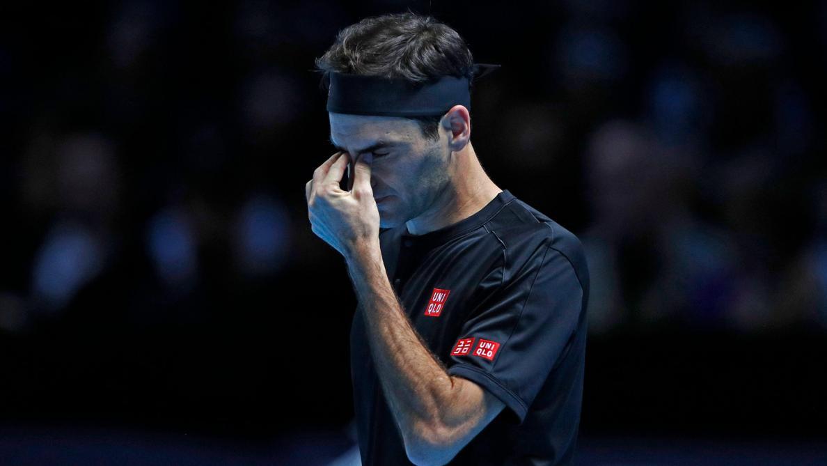 Roger Federer não resiste e perde para Dominic Thiem na estreia do ATP Finals