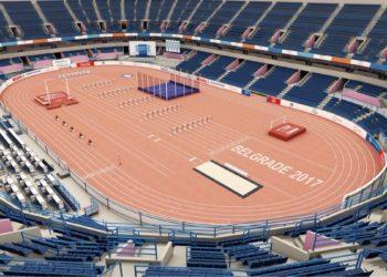 World Athletics escolhe Belgrado como a sede do Mundial indoor de 2022