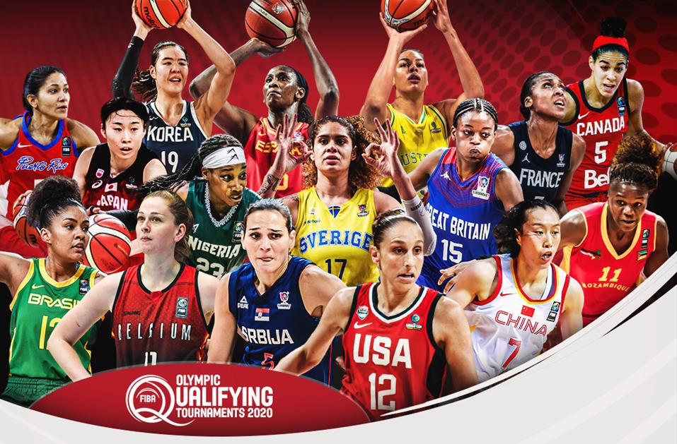 Fiba divulga potes para sorteio do pré-olímpico mundial de basquete feminino