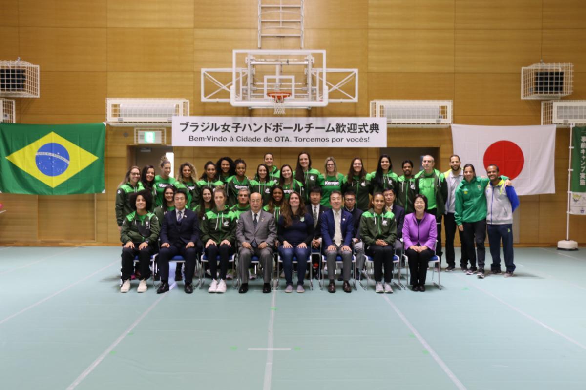 COB finaliza período de testes nas bases do Time Brasil no Japão