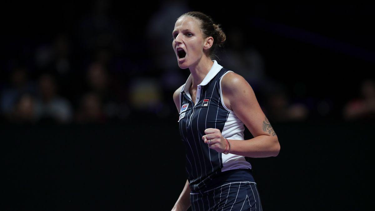Pliskova vence Halep e também garante vaga na semi do WTA Finals