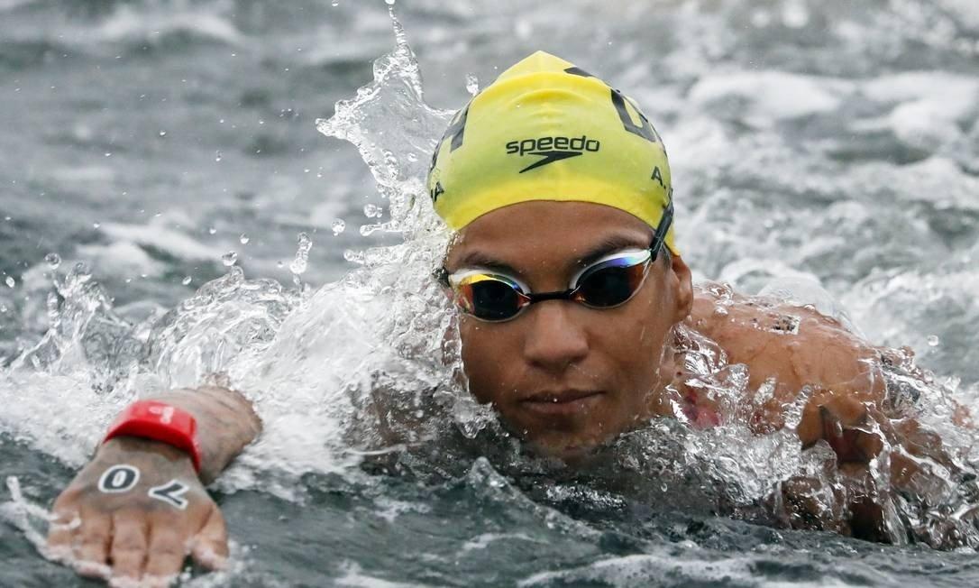 Ana Marcela Cunha vence etapa de Inema da Copa Brasil de maratona aquática