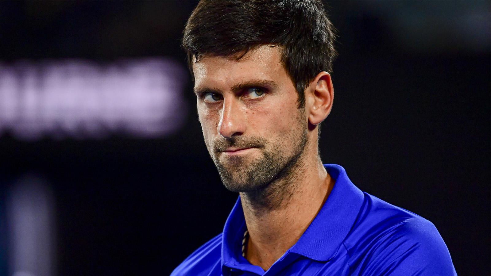 Novak Djokovic define calendário para início da próxima temporada