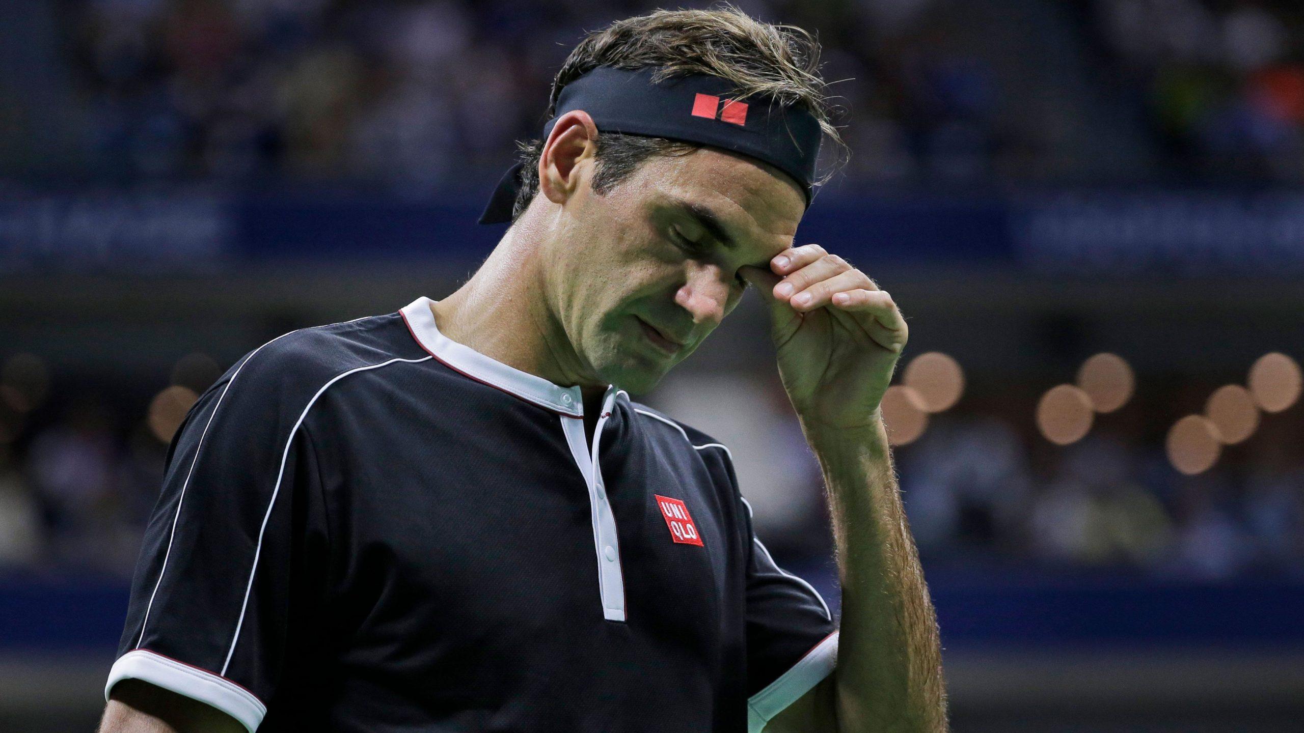 'Quando um jogador perde, ele sempre procura desculpas', diz dirigente sobre Federer