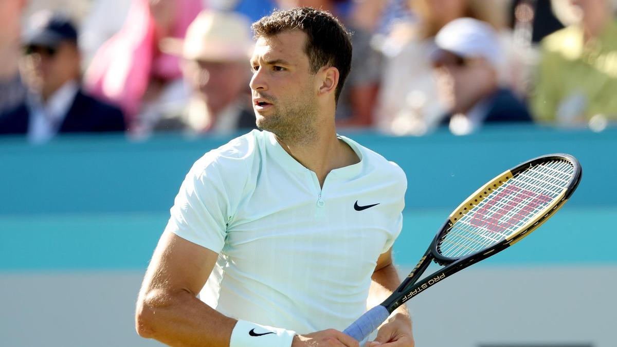 Grigor Dimitrov será jogador e capitão na disputa da ATP Cup