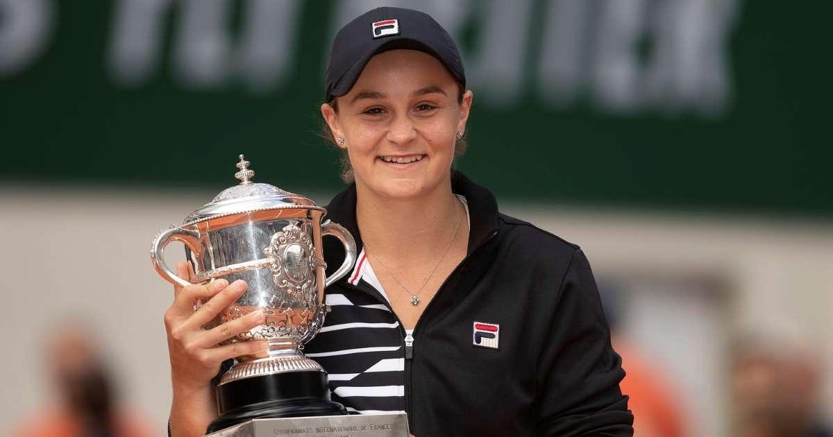 Ashleigh Barty é escolhida a tenista do ano pela WTA