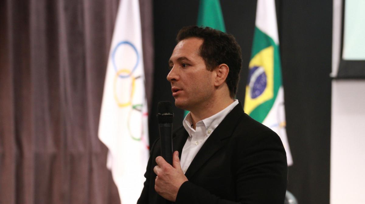 Tiago Camilo retorna à presidência da Comissão de Atletas do COB