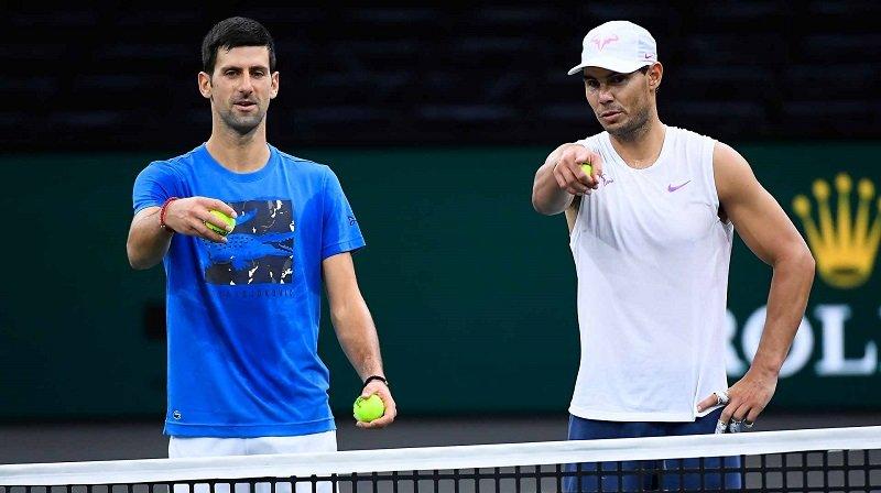 Nadal e Djokovic estreiam na sexta em Abu-Dhabi