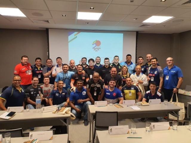 Em parceria com COB, CBJ promove workshop para treinadores das categorias de base do judô brasileiro