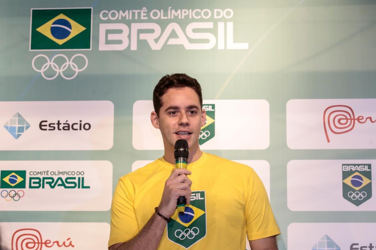 Thiago Pereira se candidata a vaga na Comissão de Atletas do COI