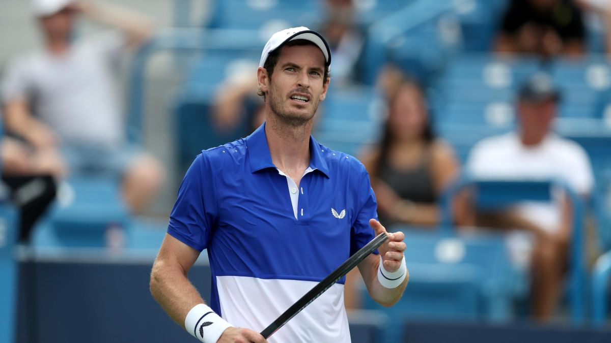Andy Murray fora do AUS Open