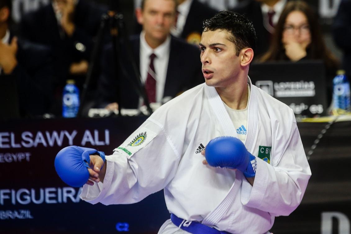 Vinicius Figueira derrota egípcio e fatura o bronze em Madrid