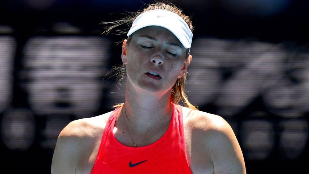 Lesionada, Maria Sharapova está fora do WTA de São Petersburgo